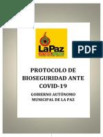 Protocolo de Bioseguridad Gamlp
