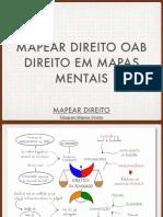 Mapear Direito OAB
