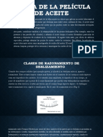 Teoria de La Película de Aceite Clase PDF