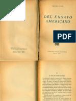 Vitier, Menardo (1945) El ensayo como género