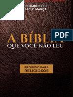 A Bíblia Que Você Não Leu