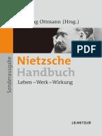 Henning Ottmann (eds.) - Nietzsche-Handbuch_ Leben — Werk — Wirkung-J.B. Metzler (2011)