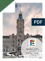 Quebec Independence Polling (Feb 25, 2021)