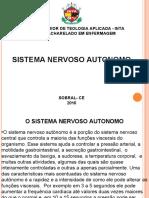FISIOLOGIA DO  Sistema nervoso autônomo (1)