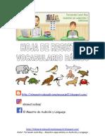 HojaRVocabularioLOSANIMALES