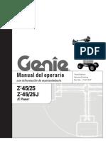 Manual operador Z45-25 y 45-25J (IC Power)(110015)