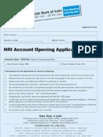 sbi nri banking form
