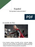 Español y Ortografía 15 de Feb
