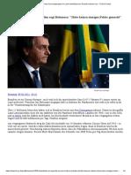 Brasilien_ Trotz Virus-Katastrophe im Land sieht Bolsonaro Schuld nicht bei sich - FOCUS Online