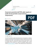 5 Sorpresiva posición del FMI