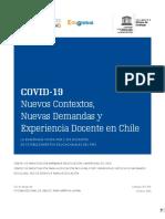 Nuevos Contextos, Nuevas Demandas y Experiencia Docente. CIAE UCH