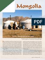 Into Mongolia