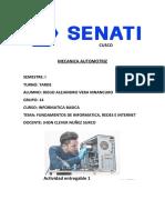 Actividad Entregable 1 Informática Basica SENATI