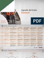 Agenda Del Líder Davy 24 -16 de Diciembre