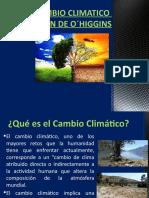 4.- CAMBIO CLIMATICO SEXTA REGION CHILE