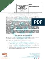 RUTA ATENCION COVID CLINICA CASTELLANA VERSION 2 CORREGICO CALIDAD Y SUBGERENCIA (1)
