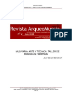 García, J. Musivaria. Arte y técnica. 2004