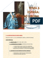 TEMA 6 LA ESPAÑA LIBERAL