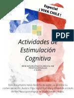 Cuadernillo _Especial Viva Chile_ - Estimulación Cognitiva - 4 Ejes