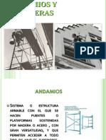 ANDAMIOS Y ESCALERAS