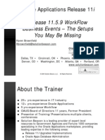 WorkflowBESetup