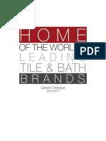 General Tile Catalogue 2016 2017 Preview
