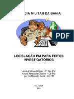 Legislação Para Feitos Investigatórios