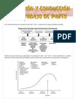 INDUCCIÓN Y CONDUCCIÓN DEL TRABAJO DE PARTO