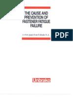 Unbrako White Paper- Fatigue Failure