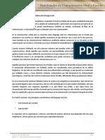 Tema 2 Habilidades de Comunicación Oral y Escrita