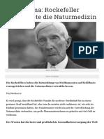 Big Pharma_ Rockefeller vernichtete die Naturmedizin - Contra Magazin