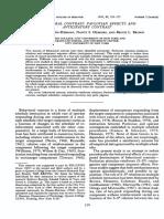 Hemmes 1992 - behavioral contrast pavlovian effects and anicipatory contrast