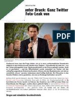 ÖVP-Spitze unter Druck_ Ganz Twitter witzelt über Foto-Leak von Diensthandy