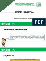 7. Auditoria Preventiva