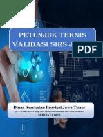 Petunjuk Teknis Validasi SIRS Jatim - Rev 13122020