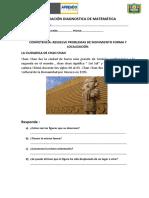 Evaluación Diagnostica de Matemáticamfl