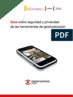 Guía sobre seguridad y privacidad de las herramientas de geolocalización