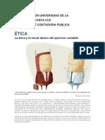 LA ETICA DEL REVISOR FISCAL FRENTE A EL LENGUAJE DE LOS NEGOCIOS