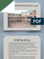 Balance Institucional 2020 Sociales