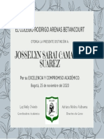 Diploma excelenciaJC