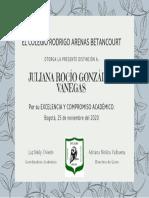 Diploma excelenciaJG