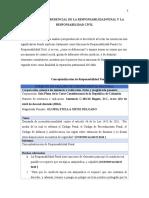 ANÁLISIS JURISPRUDENCIAL DE LA RESPONSABILIDAD PENAL Y LA RESPONSABILIDAD CIVIL