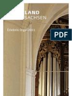 Musikland Niedersachsen Erlebnis Orgel 2011