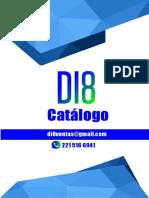 CATÁLOGO DI8