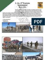 3rd Platoon March Newsletter