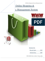 CSD Online Shopping & Inventory Management System
