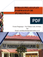 Administrasi Pelayanan Puskesmas