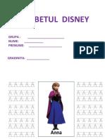 Alfabetul Disney