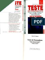 Horst Siewert - Teste de personalitate