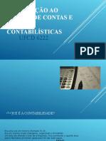 Introdução ao código de contas e normas contabilísticas UFCD6222 (1-4)